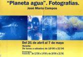 El sacerdote totanero José María Campos organiza la exposición de fotografía 'Planeta agua', que se inaugura hoy