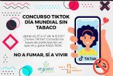 AYAC y el Área de Salud V presentan un concurso de TikTok centrado en la prevención del tabaquismo en adolescentes
