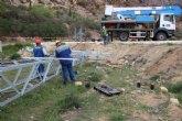 Iberdrola desmonta la l�nea de media tensi�n que cruzaba la parcela del nuevo IES Valle de Leiva