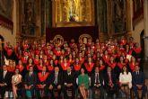 La V Promoción del Grado en Derecho, III del Máster de Acceso a la Abogacía y II del Máster en Gestión Administrativa de la UCAM se gradúan