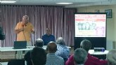 Alfonso Cayuela impartió una conferencia sobre 'EL SUMARIO 1207'
