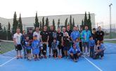 Fran Periago, campeón de las 12 Horas de Tenis 'Ciudad de Puerto Lumbreras'