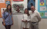 La joven pinatarense Beatriz López gana el séptimo concurso de pintura 'Pinceladas de vida'