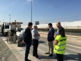 La Dirección General de Carreteras mejora la señalización vial en carreteras secundarias del municipio