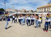 Cerca de 200 alumnos de Primaria participan en un encuentro de danzas