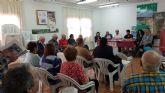 Los candidatos del PSOE de Alhama se re�nen con los vecinos de Gebas