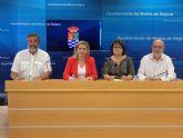El Ayuntamiento de Molina de Segura firma convenios con la Asociación Ateneo Villa de Molina y la Asociación de Personas Jubiladas y Pensionistas  Intersindical para organización de actividades en 2019