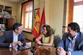El alcalde y la directora general de HIDROGEA en la Región firman un Convenio de Colaboración