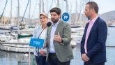 López Miras anuncia la apertura de una Oficina de Captación de Inversiones Empresariales en Cartagena y el traslado de la consejería de Turismo
