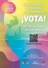 El presupuesto participativo joven de Torre Pacheco entra en su recta final