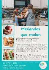 San Pedro del Pinatar se suma al Día Nacional de la Nutrición con la iniciativa 'Meriendas que molan'