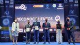 Antonio Luengo recoge la renovada Q de Calidad Turística concedida al Parque Regional de las Salinas de San Pedro del Pinatar
