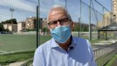 Coello denuncia el patético estado del exterior del polideportivo José Barnés mientras media corporación municipal está de viaje en Madrid