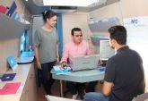 El servicio 'Infomóvil' que asesora a emprendedores llega a Puerto Lumbreras