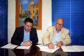 Los empresarios del Parque Industrial Oeste y el Ayuntamiento de Alcantarilla firman un nuevo convenio de colaboración