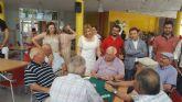 La consejera de Familia visita el centro de mayores de Roldán, en Torre Pacheco