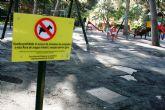 Se adjudica el contrato para la rehabilitación del área de juegos infantiles del parque municipal 'Marcos Ortiz'