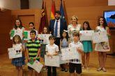 López Miras anima a los niños a 'trabajar por el futuro de la Región de Murcia'