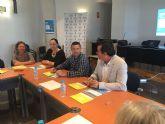 Agentes de Desarrollo Local de la región se reunen en Mazarrón para coordinar actuaciones destinadas a emprendedores