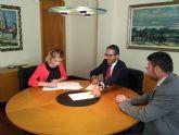 El Ayuntamiento de Molina de Segura firma el convenio con la Cámara Oficial de Comercio para la instalación de la sede en dependencias municipales