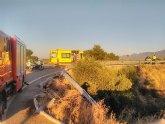 Accidente de tr�fico con 4 heridos en Alhama de Murcia
