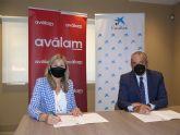 CaixaBank y Aválam firman una línea de financiación de 140 millones para autónomos y pymes de La Región de Murcia