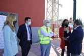 La consejera Migu�lez visita el centro de formaci�n de la Fundaci�n Laboral de la Construcci�n en Alhama de Murcia