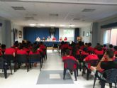 Autoridades municipales asisten a la clausura del Campamento de Verano de la Asociación Murciana de Hemofilia