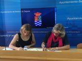 El Ayuntamiento de Molina de Segura firma una adenda al convenio de colaboración con AFESMO para atención y ayuda a personas con enfermedad mental