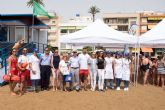 Cruz Roja y Ayuntamiento sensibilizan a la poblaci�n infantil sobre los h�bitos saludables en la playa