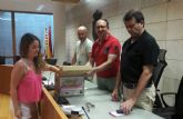 Ricardo Valenzuela López, ganador de los 600 euros de la IX Ruta de las Tapas, el Cóctel y Postres de Totana
