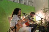Amarela presentó en primicia su último trabajo 'Instinto' en Puerto Lumbreras