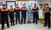 Protección Civil y el personal de Obras y Servicios, homenajeados por colaborar en el reparto de material escolar en el confinamiento
