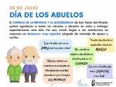 El Consejo de la Infancia y la Adolescencia brinda un desayuno a los mayores de las residencias por el Día de los abuelos