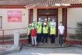 La Fundación Laboral de la Construcción recibe a los alumnos del Programa Mixto de ´Recuperación del patrimonio y paisaje cultural de Alhama´