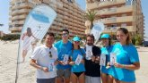 La consulta ciudadana sobre las propuestas para La Manga continúa su recorrido por las playas y zonas de mayor afluencia en el área de San Javier