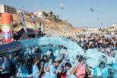 1.700 j�venes disfrutan con la Spume Run de Puerto de Mazarr�n