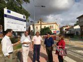 La renovación de la Avenida Aviación Española favorecerá la movilidad, accesibilidad y sostenibilidad del centro urbano de San Javier