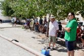 66 jugadores participan en el campeonato a la melé del Club de Petanca de Mazarrón