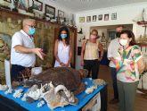 La directora general del Mar Menor visita el Museo del Mar de San Pedro del Pinatar en su 40 aniversario