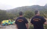 Voluntarios de Protección Civil vienen prestando refuerzo este verano a los agentes forestales en materia de prevención de incendios dentro del Plan Infomur 2020 en Sierra Espuña