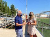 PP: Mario Gómez paraliza las obras de renovación del campo de fútbol de Cabezo de Torres