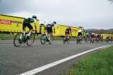 Correos lleva La Vuelta 21 a Puerto Lumbreras para la salida de la novena etapa