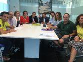 Firma Convenio de Colaboración entre el Ayuntamiento de Torre-Pacheco y AFAL