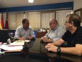El concejal de Seguridad Ciudadana del Ayuntamiento de Torre-Pacheco, se reúne con el Director General de Seguridad Ciudadana y Emergencias