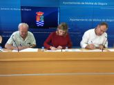 El Ayuntamiento de Molina de Segura firma un convenio de colaboración con Cáritas para la atención a personas en situación de exclusión social grave
