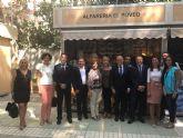 Responsables municipales asisten a la inauguraci�n de la 34ª Feria Oficial de Artesan�a de la Regi�n de Murcia (Feramur)