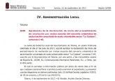 El BORM publica la aprobación de la declaración de inicio del procedimiento de resolución por mutuo acuerdo del convenio urbanístico C-45