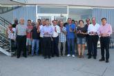 Autoridades regionales y locales visitan las explotaciones e instalaciones de procesado y comercialización de la Asociación de Productores de Pimiento para Pimentón 'Valle del Guadalentín' de Totana