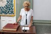 La nueva edil del grupo socialista, Mercedes García, ya forma parte del Gobierno municipal